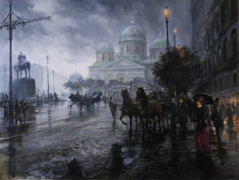 Знаменская площадь , Петроград